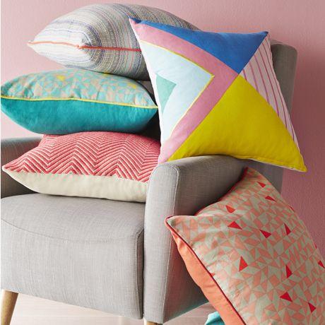 Zeta Cushion 50x50cm | Freedom Furniture and Homewares $39.95 #freedomaustralia #christmas
