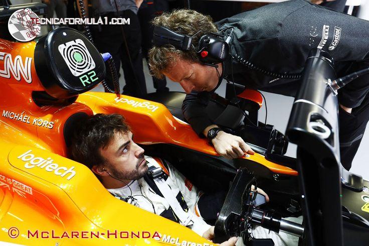 """Alonso: """"Es increíble que tengamos una penalización en la 4ª carrera""""  #F1 #Formula1 #RussianGP"""
