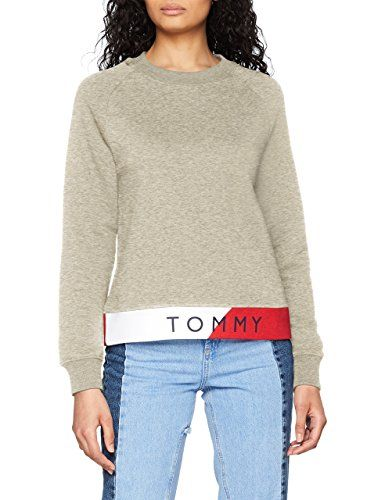 Tommy Hilfiger Th ATH Electra Sweatshirt LS, Sweat-Shirt Femme, couleur  bleu ou 607e2926e4e3