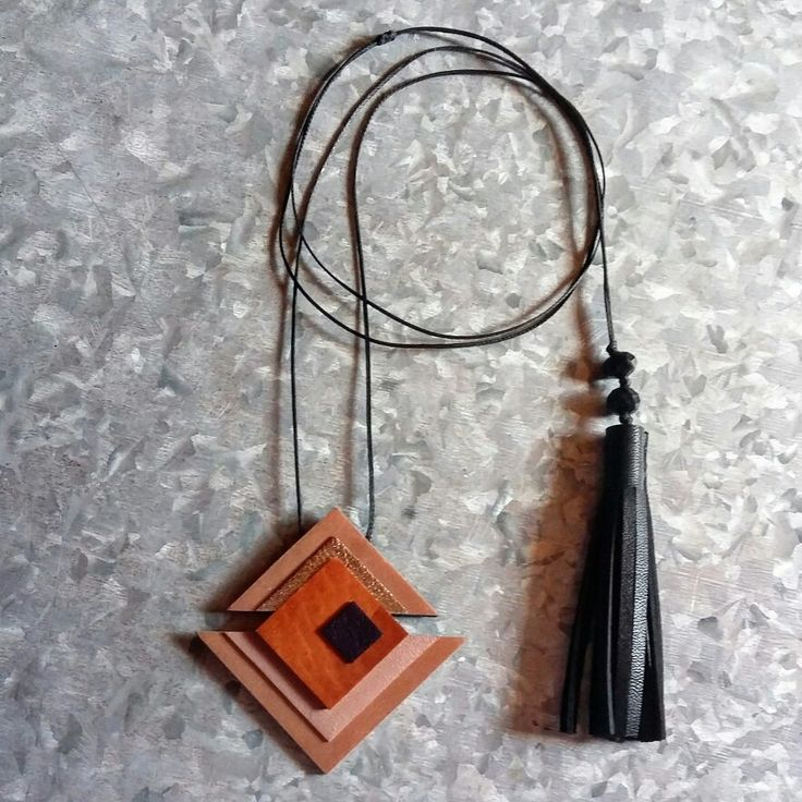 Handmade Geometry necklace by L_L .