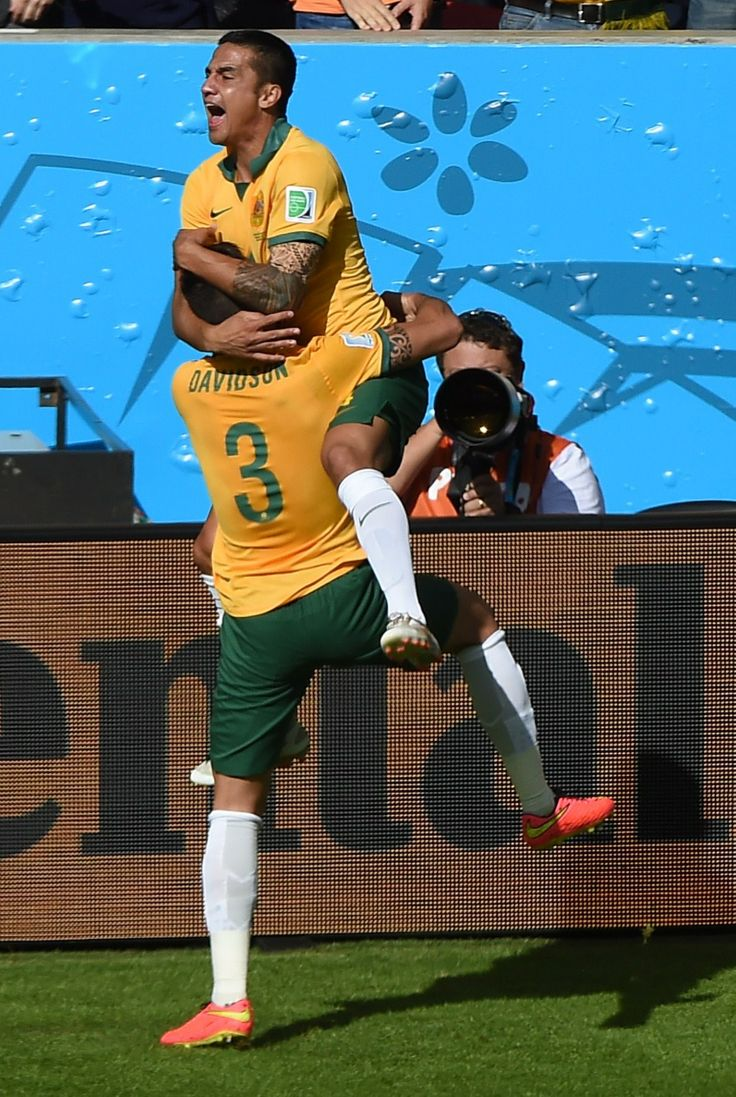 Tim Cahill, Australia vs Netherlands #Brazil2014