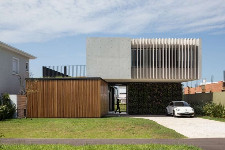Contemporary single family residence located in Xangri-lá, Brazil, designed by Arquitetura Nacional.