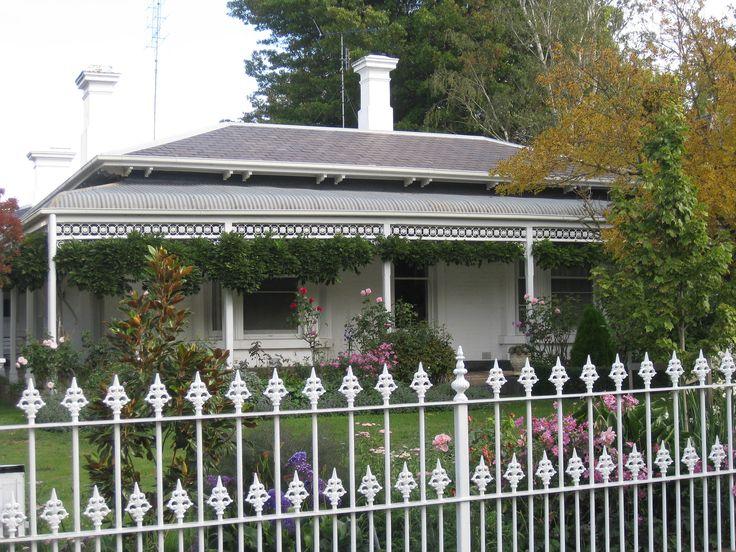 A Victorian Villa in White - Ballarat