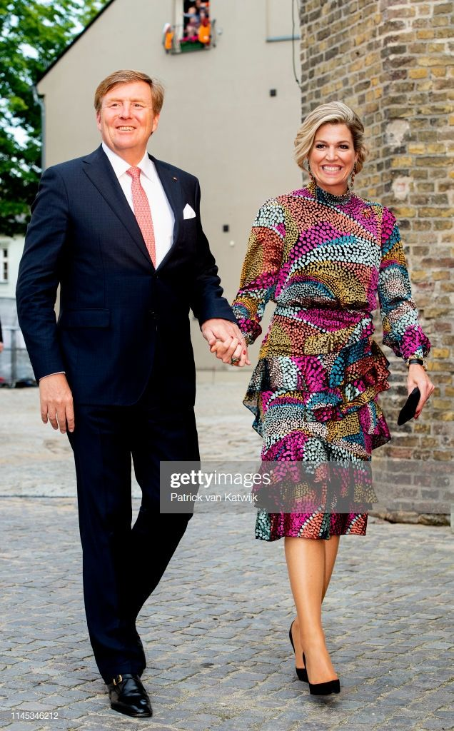 King Willem Alexander And Of The Netherlands And Queen Maxima Of