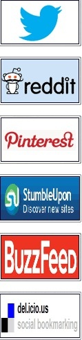 Popular online bookmarking sites. For easily viewing bookmarks I like Pinterest & StumbleUpon best.