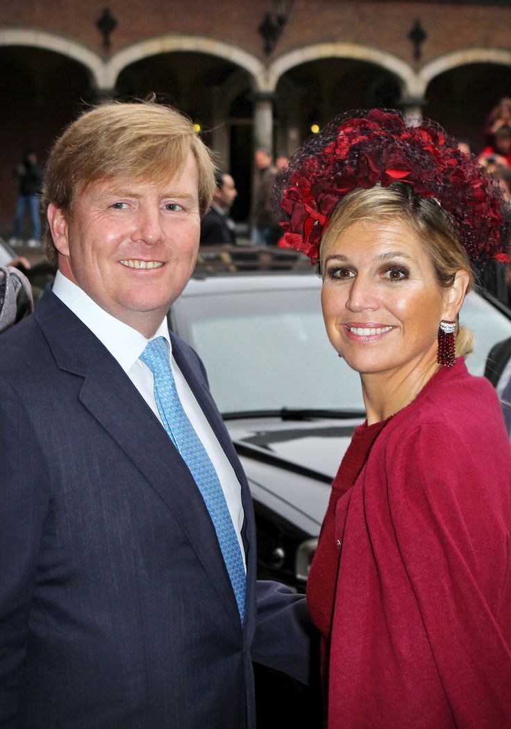 King and Queen of the Netherlands....