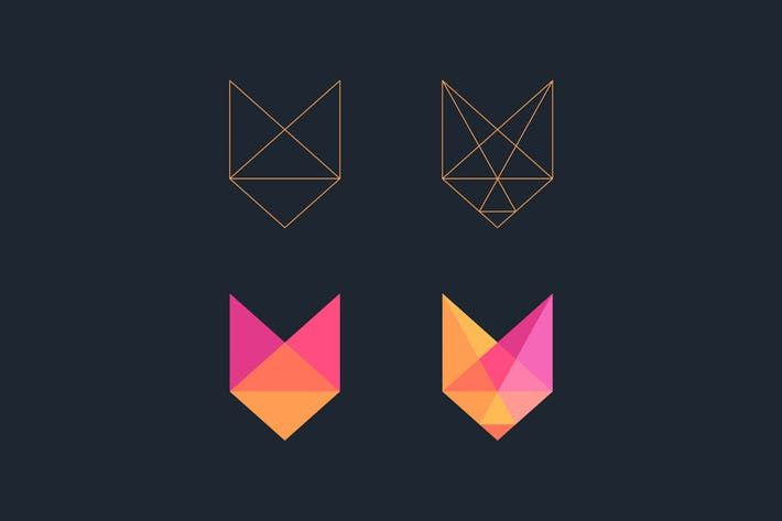 Low poly Fox logo #line #polygon  • Download here → http://1.envato.market/c/97450/298927/4662?u=https://elements.envato.com/low-poly-fox-logo-CYUG7T