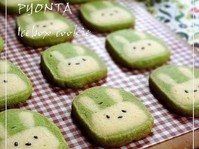 うさぎのピョン太♡アイスボックスクッキーの画像