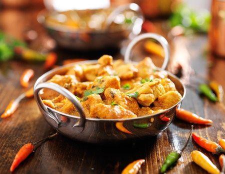 La #recette du fameux poulet au curry !
