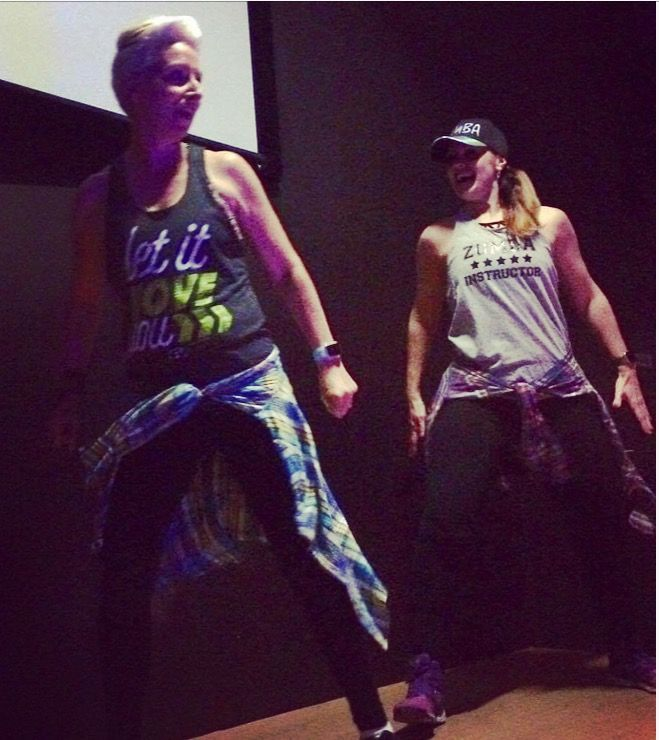 The first time I went to a Zumba class I new I'd found my happy place. So I became an instructor, I love it 💕💃🏻