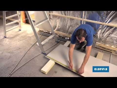 ▶ Gipsplaten plaatsen - Klusfilmpje | GAMMA België - YouTube