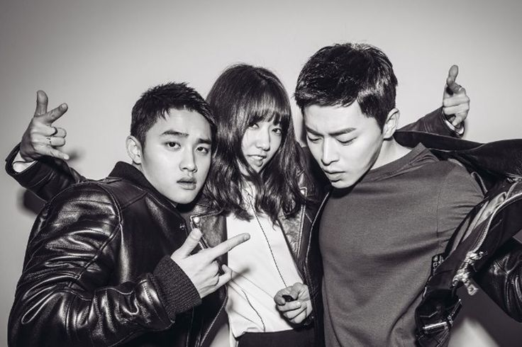 Promo Film 'My Annoying Brother', Jo Jung Suk, D.O. EXO, dan Park Shin Hye Tampil Rusuh dalam 10 Foto Terbaru - Korea Iyaa