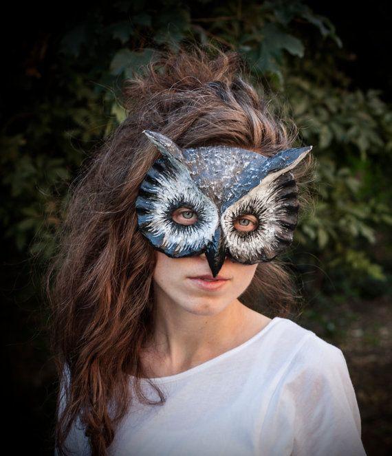 Royal Owl Bird Mask // Nib And Chisel