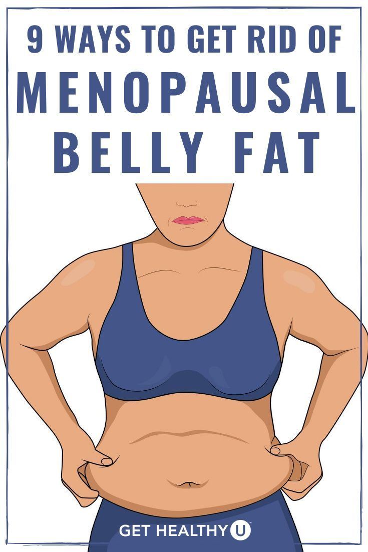 get rid of belly fat over 50