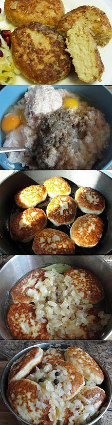 Рыбные котлеты-семейный рецепт : Рыбные блюда