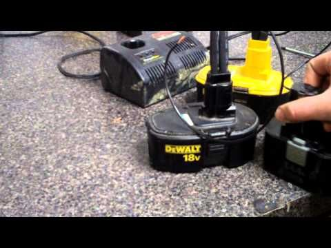 How to fix/revive cordless tool batteries. Part one: The process. Don't waste those old batteries! Revive 'em!