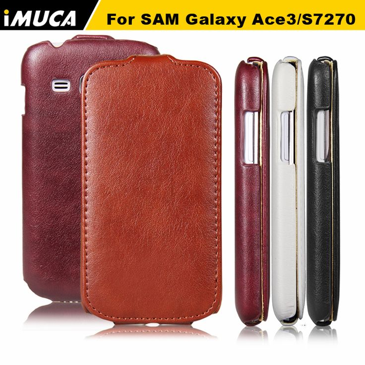 For Samsung Galaxy Ace 3 Case Cover iMUCA Flip Leather Cases Protective Phone Shell Coque For Samsung Galaxy Ace 3 S7270 S7275 #Affiliate