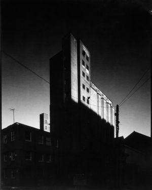 'The Mill'  Bolland's Mill, Barrow Street, Dublin  Sinar F2 Schneider-Kreuznach Super Angulon 90mm f8 Ilford/Harman Direct Positive Paper FB 4x5 ISO 6  Photographer: Artur Sikora