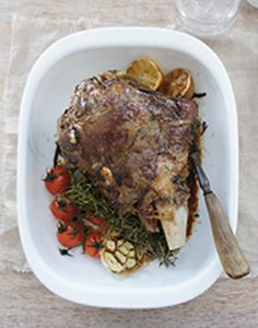 Slow Roast Greek Lamb - Melts in your mouth, it's a real crowd pleaser. susudup