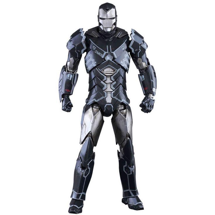 Image of Hot Toys Marvel Iron Man 3 Iron Man Mark XV Sneaky 12 Inch Statue