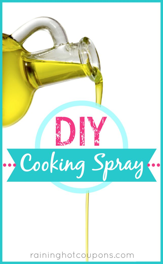 DIY Cooking Spray