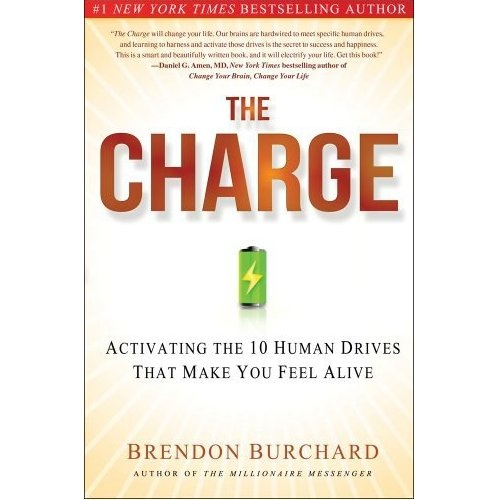"""""""The Charge"""" by Brendon Burchard"""