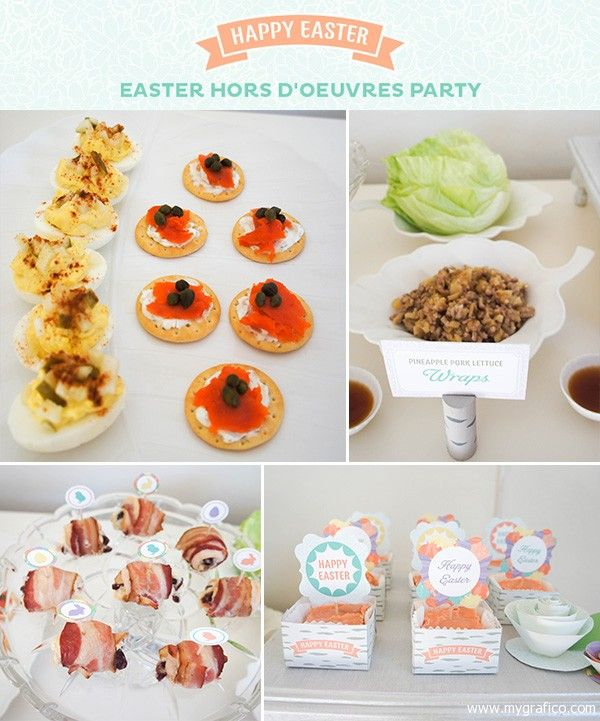 Easter Dinner Party Ideas Part - 45: EASTER PARTY IDEAS | Food1 Easter Party Ideas