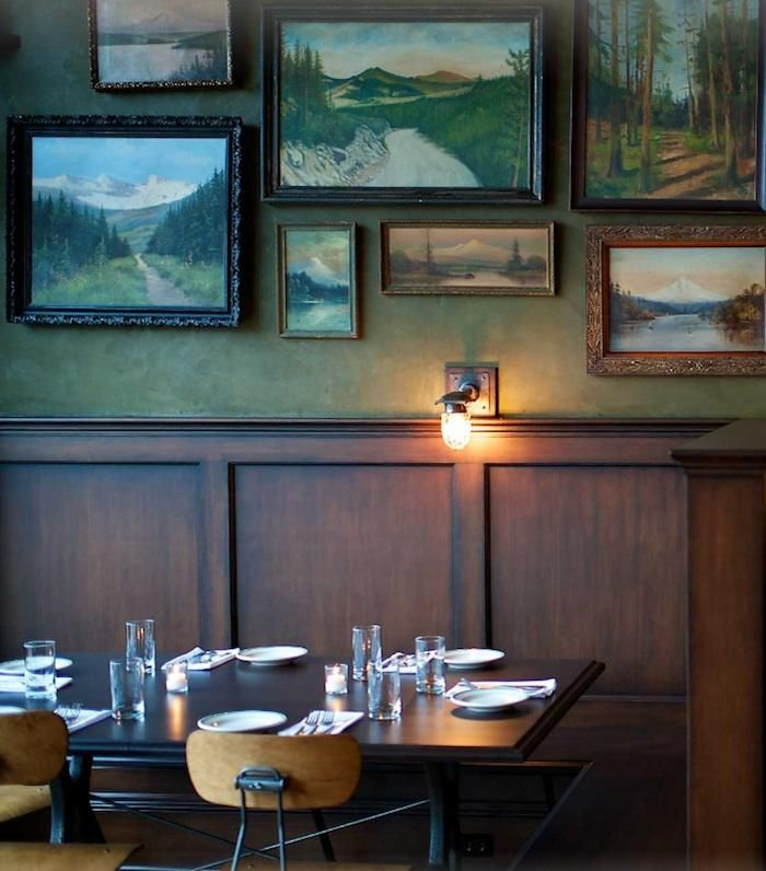 The Woodsman Tavern and Market in Portland, OR : Remodelista