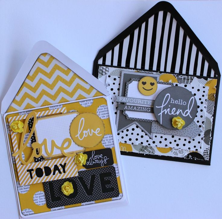 Cards x two by Alison Bevis using Kaisercraft 'Shine Bright' collection ~ Cards 1.