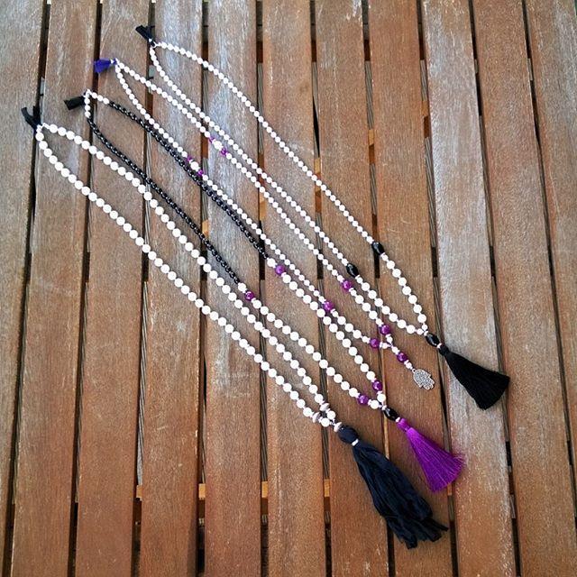 Made with love ❤💙💚💛💜 #mala #malanecklace #yoga #yogajewerly #mala108 #pearls #Zen #Buddha #Buddhism #handmade #mrsnoproblem
