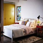 Bedroom Furniture - Beds, Mattresses & Inspiration - IKEA  - I love everything but the lamp