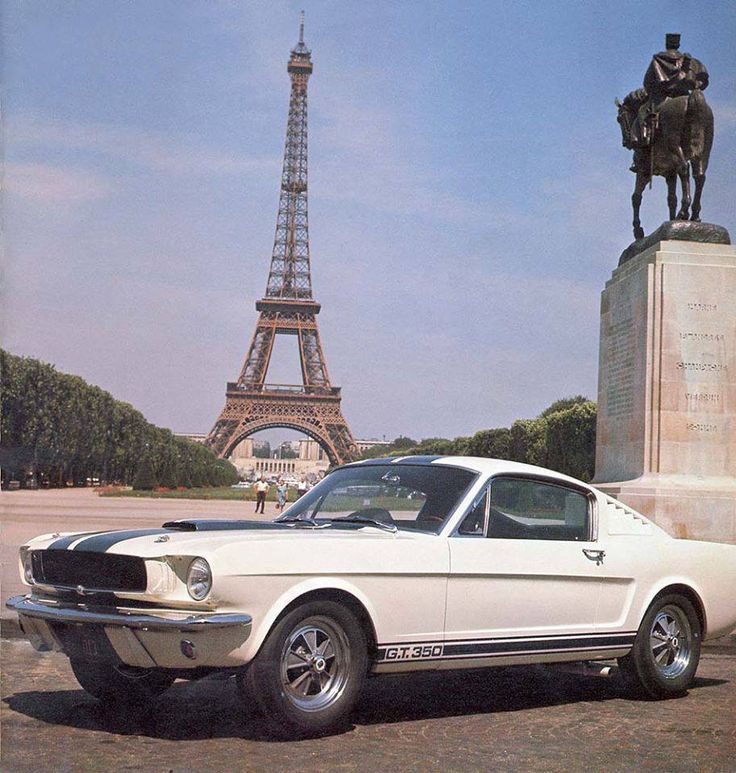 1965 Shelby G.T. 350....in Paris.