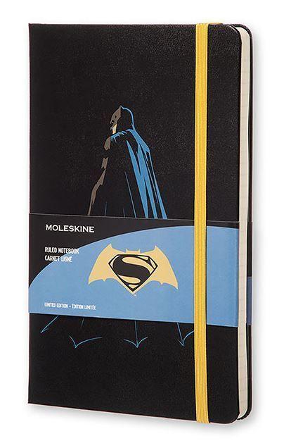 Moleskine Batman Vs Superman Limited Edition Large Ruled Notebook (Batman) #Moleskine