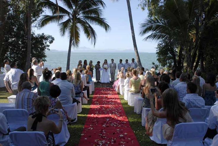 Rex Smeal Park- Little Cove is the perfect back drop for your ceremony