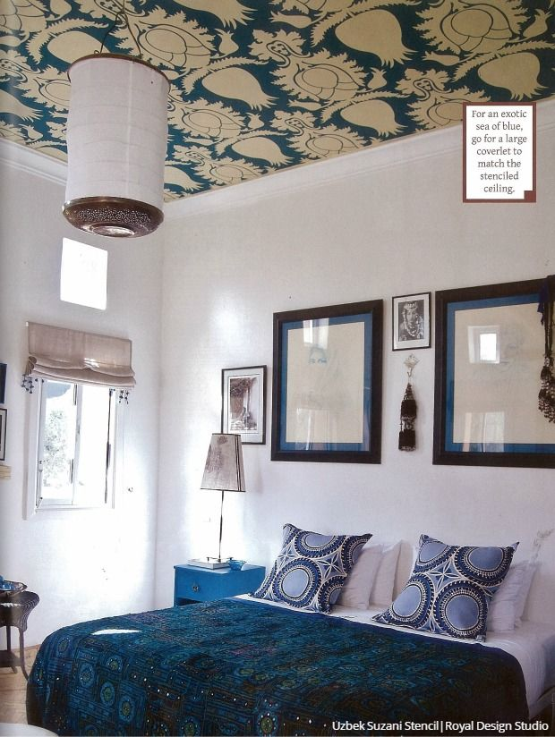 193 best Stenciled and Painted Ceilings images on ...