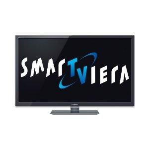 Panasonic TX-L47ETW5 119 cm (47 Zoll) 3D LED-Backlight-Fernseher, Energieeffizienzklasse A+ (Full-HD, 300Hz Backlight Scanning, SmarTViera, WiFi, DVB-S/T/C) Anthrazit-Metallic: Amazon.de: Elektronik