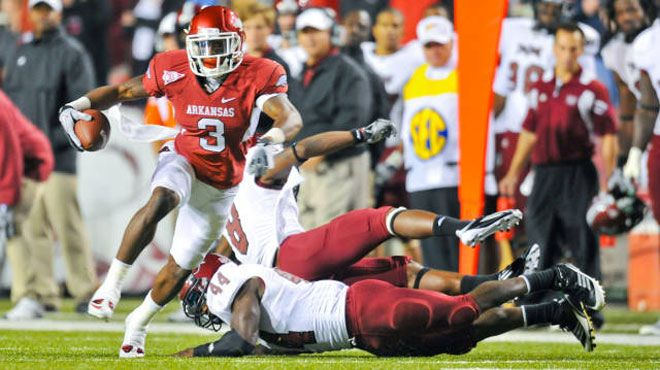 2011 Arkansas Razorbacks football report card: Pre-SEC ...
