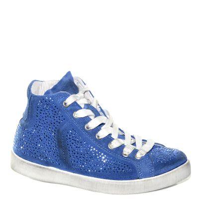 #Sneaker in camoscio blu cobalto con strass di #Cafenoir >  http://www.tentazioneshop.it/scarpe-cafe-noir/sneaker-eb621-azzurro-cafe-noir.html