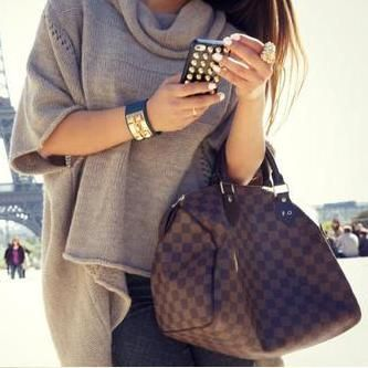 Louis Vuitton Damier Ebene Canvas Speedy Bags 30 N41531. bag, сумки модные брендовые, bags lovers, http://bags-lovers.livejournal