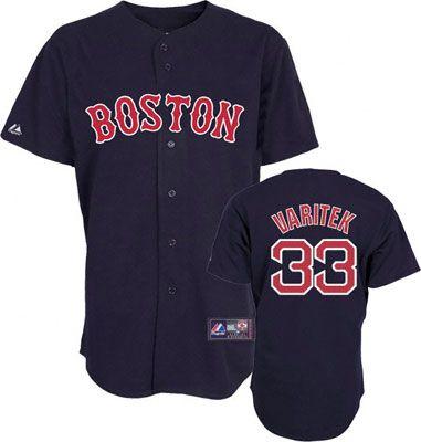 Boston Red Sox Jason Varitek 33 Black Authentic Jersey Sale