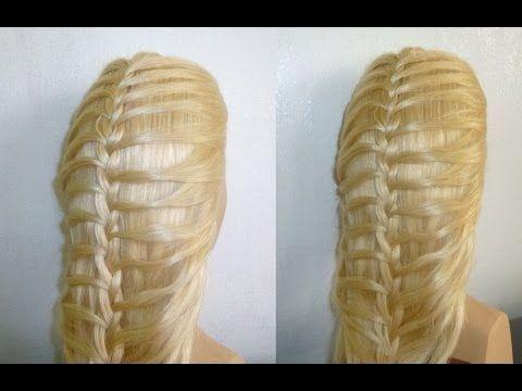 Französischen Zopf flechten.Flecht/Zopffrisuren.Ausgehfrisur.French Braid Hairstyle.Trenzas Peinados - YouTube
