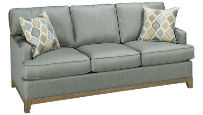 Capris - Sun Track - Queen Sleeper Sofa - Jordan's Furniture  Sunbrella fabric