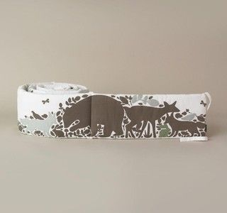 Dwell Studio Woodland Tumble Bumper - traditional - crib accessories - by Candelabra