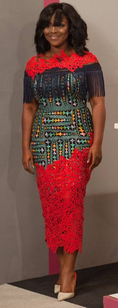 Yvonne Okoro in African print and lace, African fashion, Ankara, kitenge, African women dresses, African prints, African men's fashion, Nigerian style, Ghanaian fashion, ntoma, kente styles, African fashion dresses, aso ebi styles, gele, duku, khanga, vêtements africains pour les femmes, krobo beads, xhosa fashion, agbada, west african kaftan, African wear, fashion dresses, asoebi style, african wear for men, mtindo, robes, mode africaine, moda africana, African traditional dresses