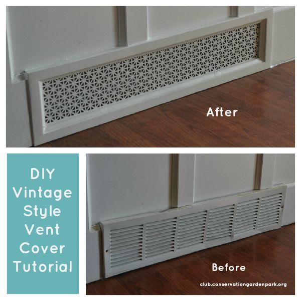 "Pinspiration: DIY ""Vintage"" Air Vent Covers - Jordan Valley Home & Garden Club"