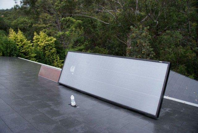 SolarVenti installation in the green Glenhaven! #solarventiau #solarventi #solair