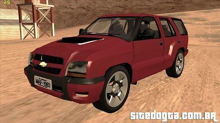 Chevrolet Blazer 2009 para GTA San Andreas