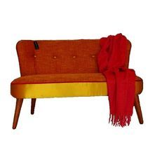 austin 2 seater - A bright fabric combination give this Kovacs sofa a bold look. NZ made (in your choice of fabric!)