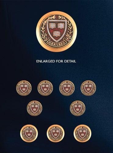 University blazer buttons by Ben Silver.  Somehow, they seem to cover every university EXCEPT Cornell and Yale.  Shame. They're just leaving my money on the table.