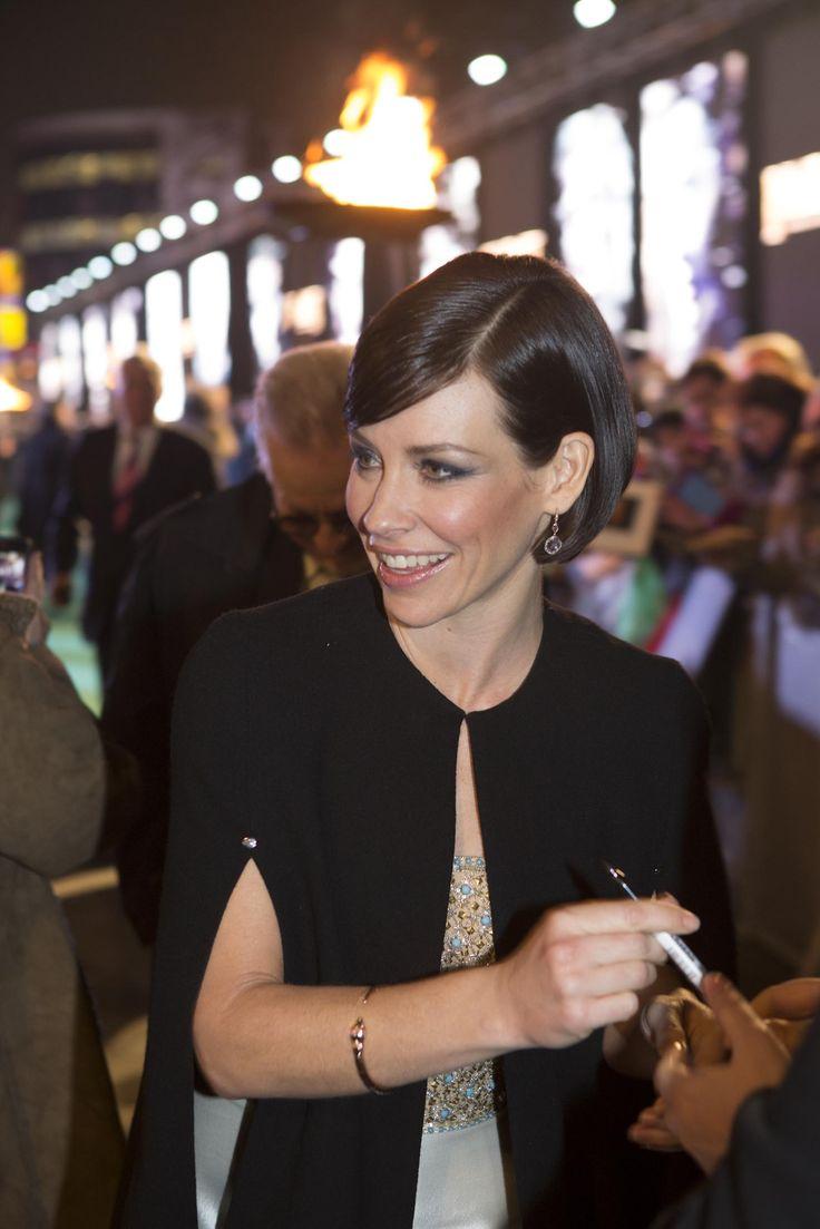 Evengeline Lilly. BOTFA London premiere 12.1.14